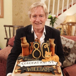 Ken Barlow's cake made by us!